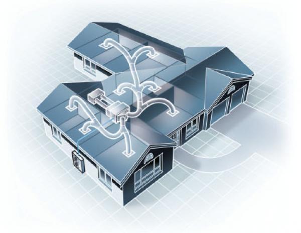 Кондиционирование воздуха в доме