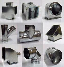 Воздуховоды сделанные из металла