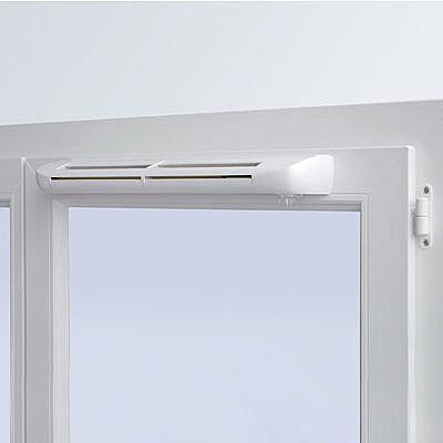 Клапан установленный в окнах пвх