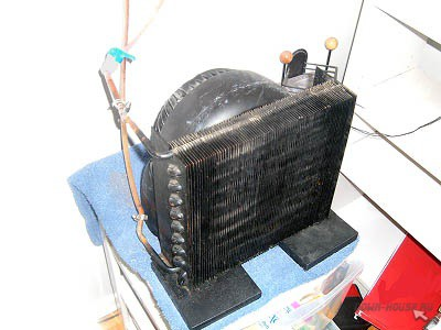 Кондиционер сделанный из автомобильного радиатора