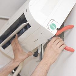 Монтаж наружного блока настенного кондиционера