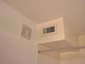 Вытяжка-вентилятор в ванной комнате