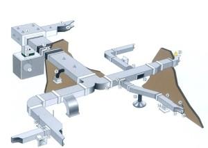 Воздуховоды в системе с прямоугольным сечением