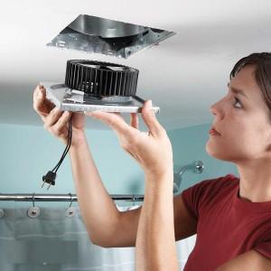 Вентилятор для туалетной вентиляции
