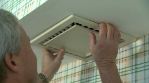 Проверка работоспособности вентиляции