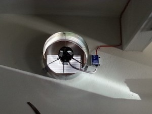 Система вытяжки для гаража