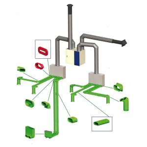 Сборка системы вентиляции