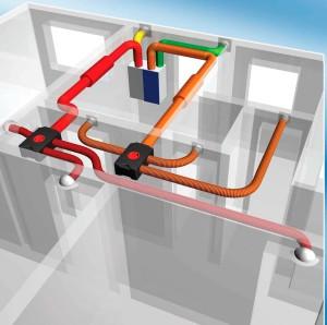 Домашняя система вентиляции