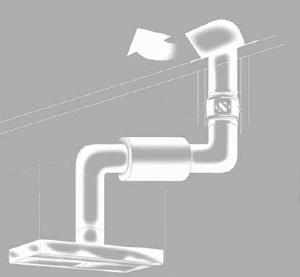 Строение вентиляции для кухни