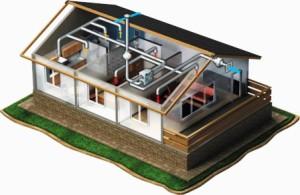 Система приточной вентиляции дома