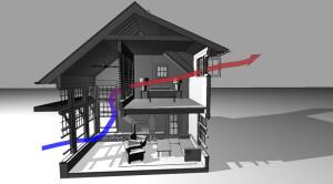 Планирование вентиляции дома
