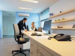 Кондиционер в офисе