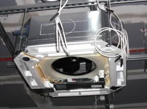 Монтаж кассетного кондиционера