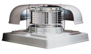 Конструкция крышного вентилятора