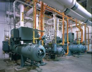 Централь на заводе