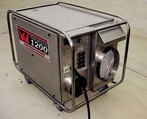Небольшое оборудование для осушения воздуха
