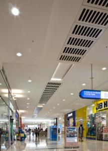 Вентиляционные каналы под потолком