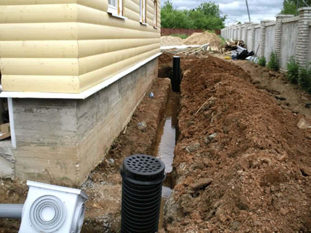 Устройство системы вентиляции в канализации