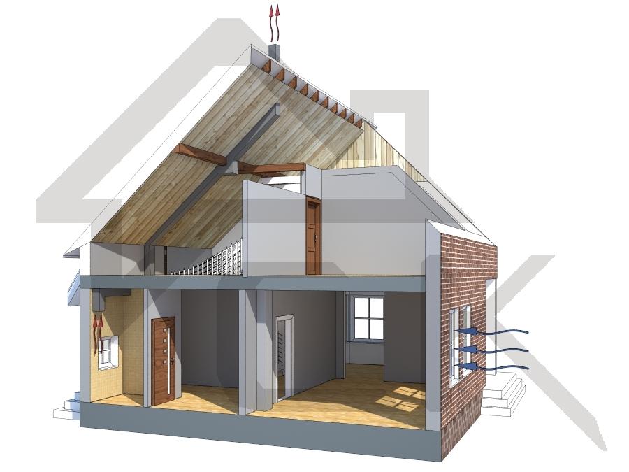 Составление проекта систем кондиционирования воздуха в доме