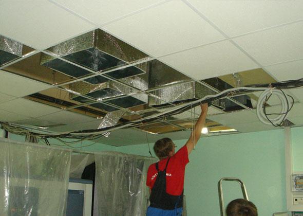 Как проводится монтаж вентиляционной системы