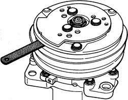 Как снять муфту компрессора кондиционера