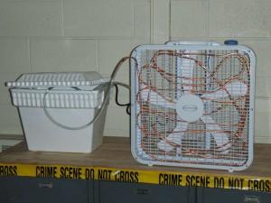 Самодельный кондиционер из вентилятора