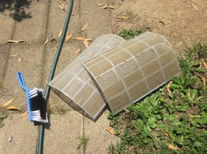 Загрязнённые фильтры