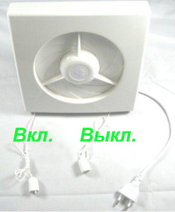 Вентилятор для принудительной вентиляции