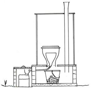 Схематика туалета