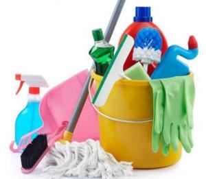 Подготовка к влажной уборке