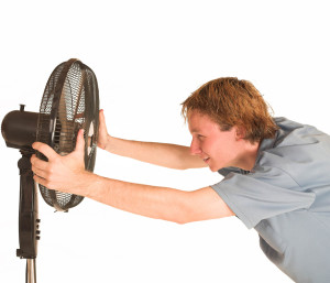 Вентилятор - маленький помощник