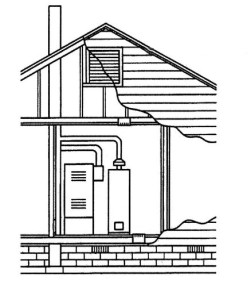 Установка системы вентиляции