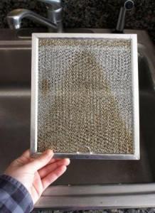 Очистка фильтра вытяжки