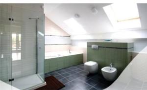 Ванная и туалет с вытяжной вентиляцией