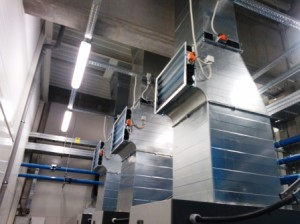 Приточная вентиляция на производстве