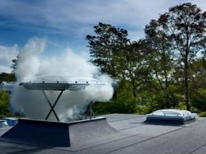 Вывод дыма из дома