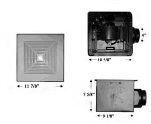 Элементы вентиляционной установки