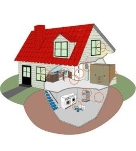 Вентиляция дома с подвалом