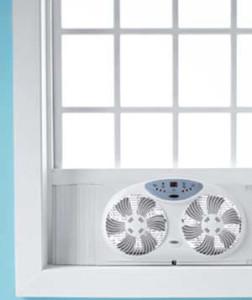 Приточно-вытяжная вентиляция в окне