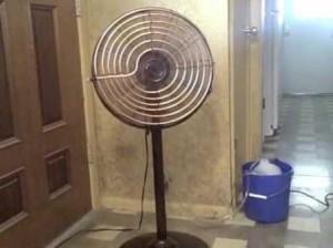 Самодельный кондиционер их вентилятора