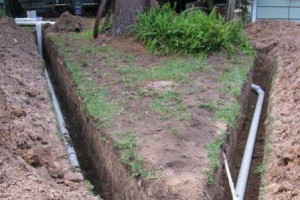 Устройство вентиляции наружной канализации