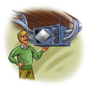 Приточно-вытяжная вентиляция для погреба