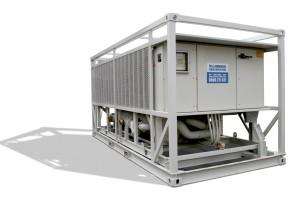Холодильный агрегат с внешним испарителем
