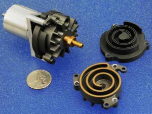 Детали спирального компрессора