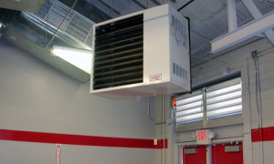 Подвесной тепловентилятор