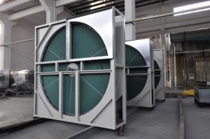 Роторный прибор для промышленного проветривания