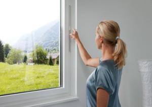 Климатический клапан в окне